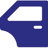 Icon Fahrzeugtür