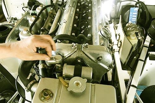 Inspektion Motor